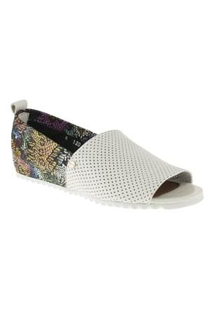 La Pinta 270 418-101Z Beyaz Ayakkabı