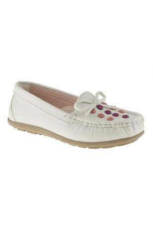 Pink Step 257 Ofena-P Beyaz Ayakkabı