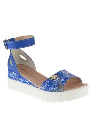 La Pinta 270 288-224Z Mavi Sandalet