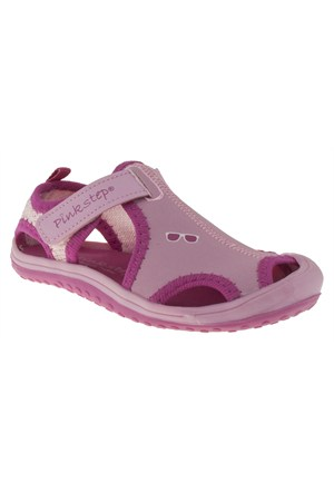 Pink Step 257 Jupıter-4P Pembe Sandalet