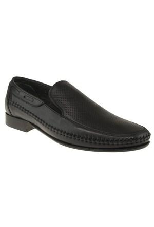 Burç 303 2308M Siyah Ayakkabı