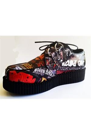 Köstebek Heavy Metal Creepers Ayakkabı