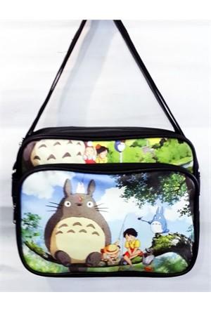 Köstebek Totoro With Friends Çanta