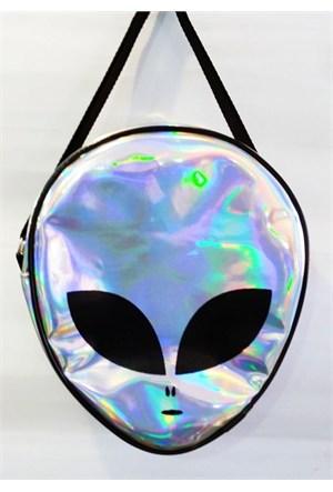 Köstebek Hologram Alien Çanta