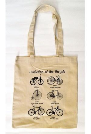 Köstebek Evolution Of The Bicycle Bez Çanta