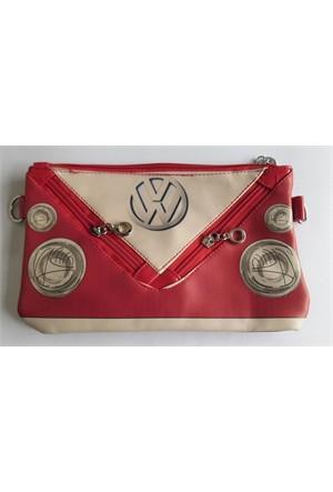 Köstebek Volkswagen Red Çanta
