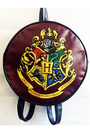 Köstebek Harry Potter - Hogwarts Renkli Semboller Sırt Çantası