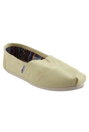 Toms 10001408 Sarı Bayan Ayakkabı (Kzy)