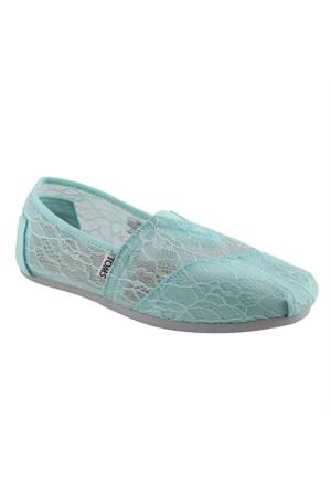 Toms 10005003 Mint Lace Bayan Ayakkabı (Kzy)