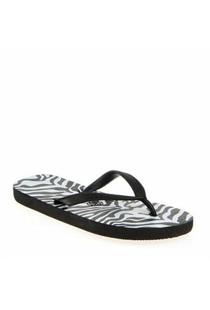 Pieces Parmak Arası Terlik Vera Zebra Black 17055672-Blk