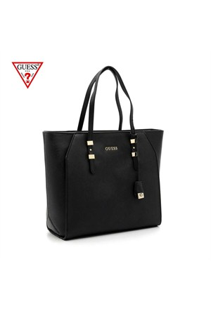 Guess Çanta Hwsiss P6179 Sissi Medium Tote Black