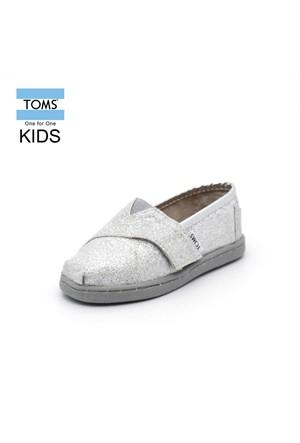 Toms 10007637 Silver Glimmer Tn Alpr Esp Ayakkabı