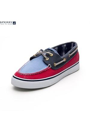 Sperry 9266412 Bahama Red Navy Blue Ayakkabı