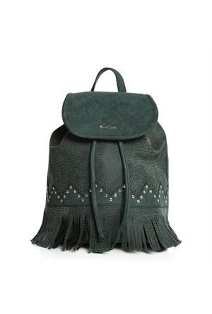 Esta Rubon 40601 Kadın Sırt Çantası Yeşil