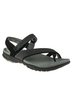 Merrell 266 J55044z Siyah Sandalet