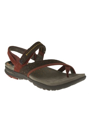 Merrell 266 J55044z Turuncu Sandalet