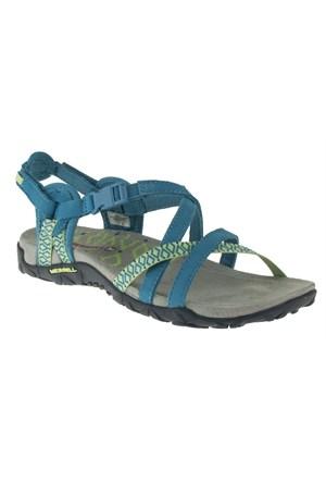 Merrell 266 J55314z Yeşil Sandalet