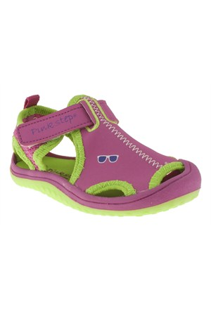 Pink Step 257 Jupıter-4B Fuşya Sandalet