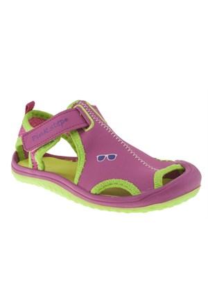 Pink Step 257 Jupıter-4P Fuşya Sandalet