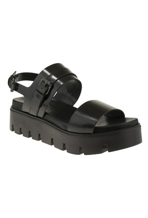 Yees 247 402Z Siyah Sandalet