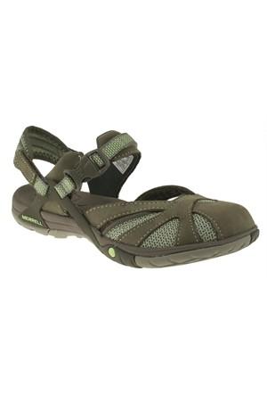 Merrell 266 J35318z Yeşil Sandalet
