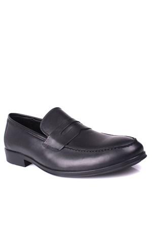 Kalahari 885181 039 013 Erkek Siyah Klasik Ayakkabı
