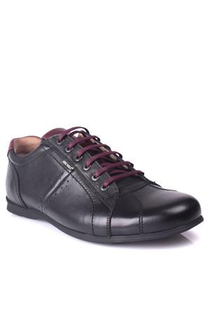 King Paolo 7140 034 013 Erkek Siyah Günlük Ayakkabı
