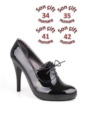 Loggalin 152033 031 020 Kadın Siyah Platform Ayakkabı