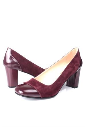 Loggalin 375500 031 625 Kadın Bordo Günlük Ayakkabı