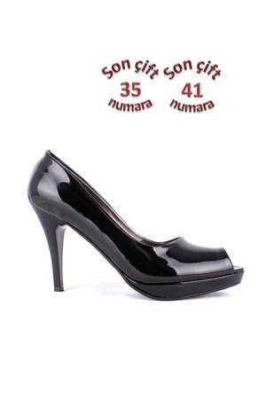 Loggalin 781502 031 020 Kadın Siyah Platform Ayakkabı