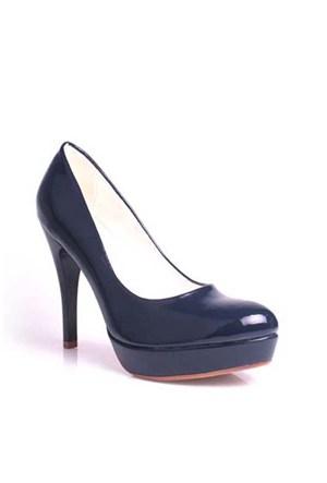 Loggalin 580501 031 420 Kadın Lacivert Platform Ayakkabı