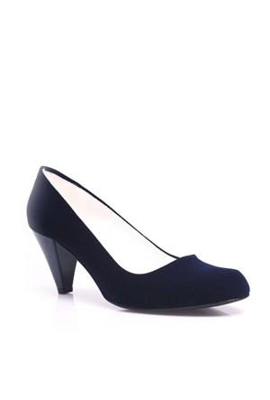 Loggalin 580720 427 Kadın Lacivert Süet Ayakkabı