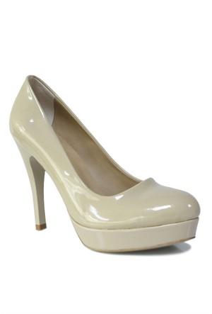 Loggalin 580501 031 320 Kadın Bej Platform Ayakkabı