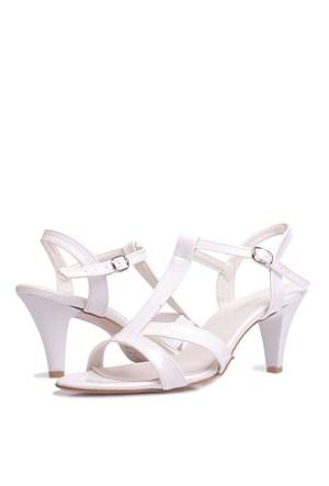 Loggalin 580005 031 468 Kadın Beyaz Sandalet