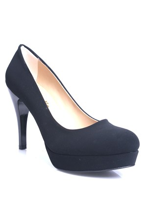 Loggalin 580501 031 008 Kadın Siyah Platform Ayakkabı