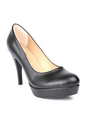 Loggalin 580501 031 014 Kadın Siyah Platform Ayakkabı