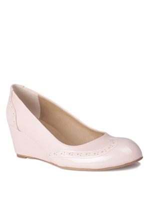 Loggalin 580070 031 720 Kadın Pudra Dolgu Topuk Ayakkabı