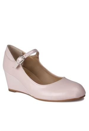 Loggalin 580075 031 720 Kadın Pudra Dolgu Topuk Ayakkabı