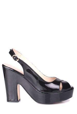 Loggalin 520907 031 020 Kadın Siyah Platform Ayakkabı