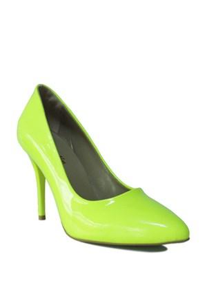 Loggalin 580115 031 391 Kadın Neon Sarı Stiletto