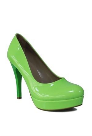 Loggalin 580501 031 676 Kadın Neon Yeşil Platform Ayakkabı