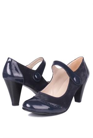 Loggalin 375400 031 425 Kadın Lacivert Günlük Ayakkabı