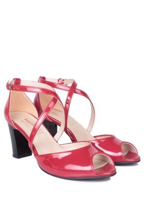 Loggalin 375324 031 559 Kadın Kırmızı Günlük Ayakkabı