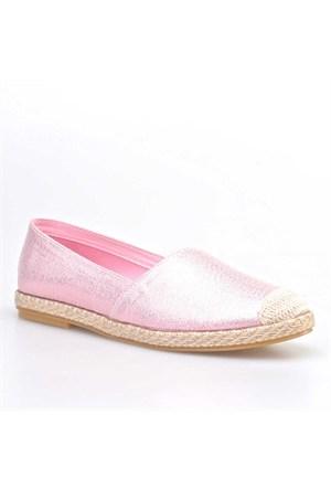 Cabani Simli Günlük Kadın Ayakkabı Pembe