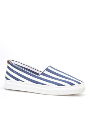 Cabani Bağcıksız Sneaker Kadın Ayakkabı Lacivert