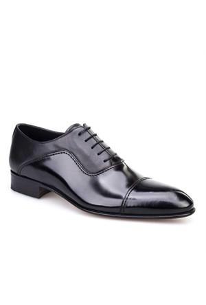 Nevzat Klasik Erkek Ayakkabı Siyah Açma Deri