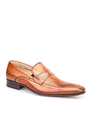 Nevzat Klasik Erkek Ayakkabı Taba Antik Deri