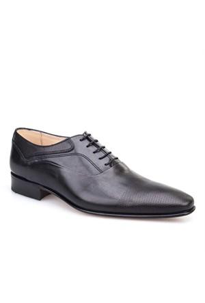 Nevzat Klasik Erkek Ayakkabı Siyah Antik Deri