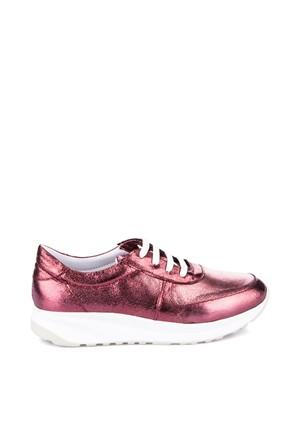 Pembe Potin Aly Bordo Ayakkabı