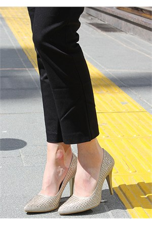 Pembe Potin Polyanna Dore Ayakkabı